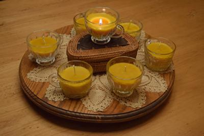 Punch Cup Candles